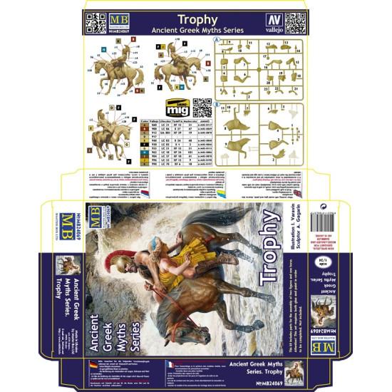 Master Box 24069 - 1/24 Ancient Greek Myths Series. Trophy scale model plastic