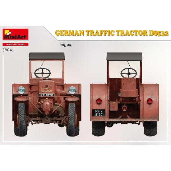 Miniart 38041 - 1/35 German traffic tractor D8532 scale plastic model Miniatures