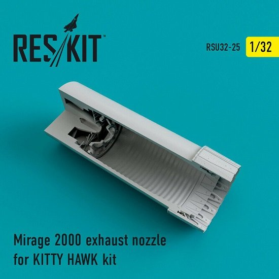 Reskit RSU32-0025 - 1/32 Mirage 2000 exhaust nozzles for KITTY HAWK KIT model