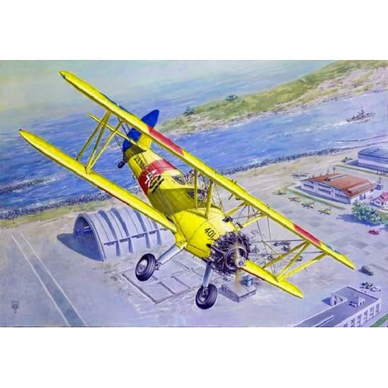Roden 633 - 1/32 Boeing/Stearman PT-13 Kaydet scale plastic model aircraft