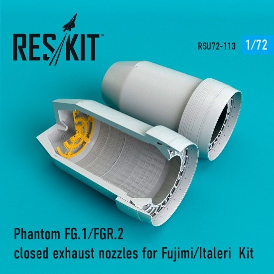 Reskit RSU72-0113 - 1/72 Phantom FG.1/FGR.2 closed exhaust nozzles for model kit