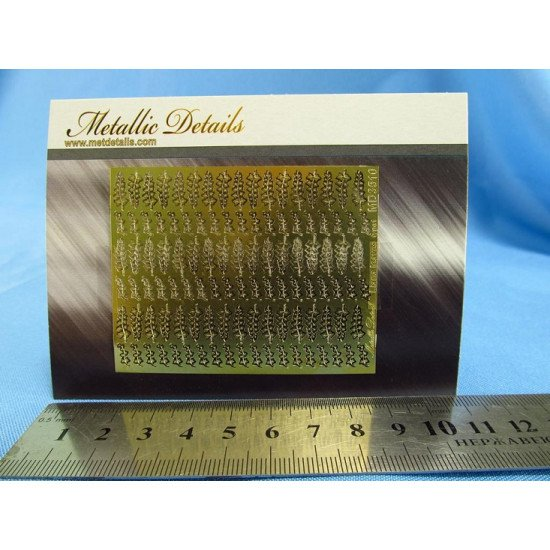 Metallic Details MD3510 - 1/35 Photoetched parts for imitation of liana leaves
