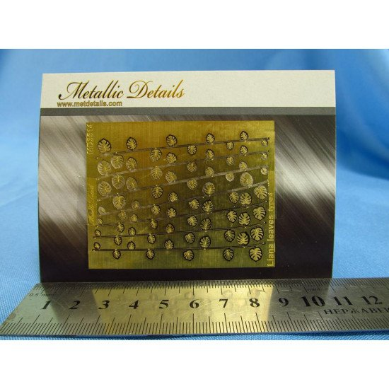Metallic Details MD3514 - 1/35 Imitation of liana leaves type 4 (Photoetched)