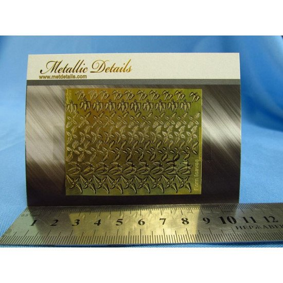 Metallic Details MD3515 - 1/35 Photoetched parts for imitation of fern leaves