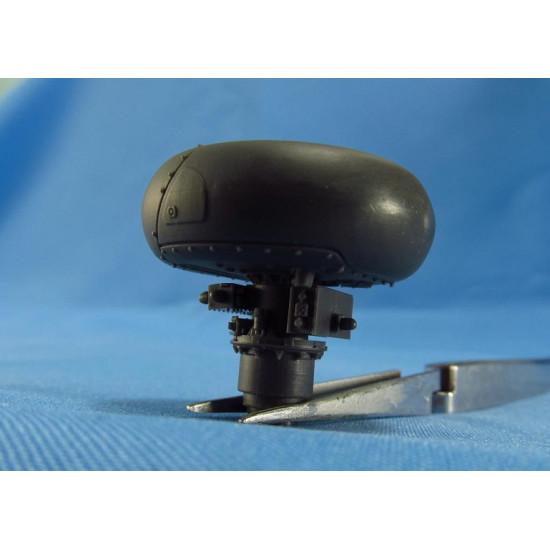Metallic Details MDR3520 - 1/35 AH-64 Apache. LongBow Radar scale model kit