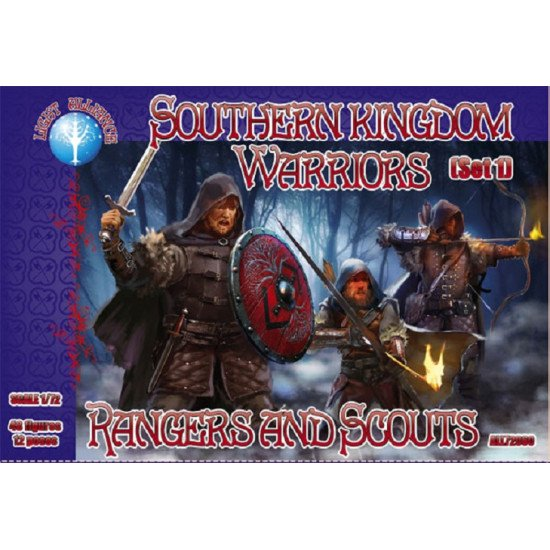 Alliance 72060 - 1/72 - Southern kingdom Warriors. Set 1. Rangers and Scouts