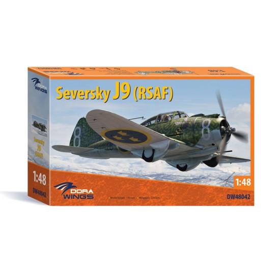 Dora Wings 48042 - 1/48 - Seversky J9 (RSAF), scale plastic aircraft model kit