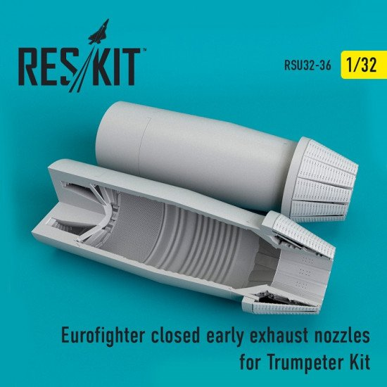 Reskit RSU32-0036 - 1/32 Eurofighter closed (early type) exhaust nozzles scale