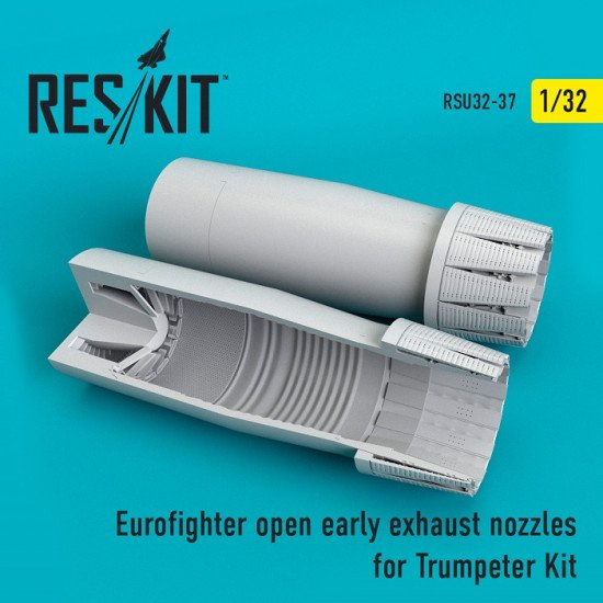 Reskit RSU32-0037 - 1/32 Eurofighter open (early type) exhaust nozzles scale kit