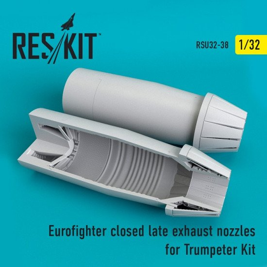 Reskit RSU32-0038 - 1/32 Eurofighter closed (late type) exhaust nozzles model