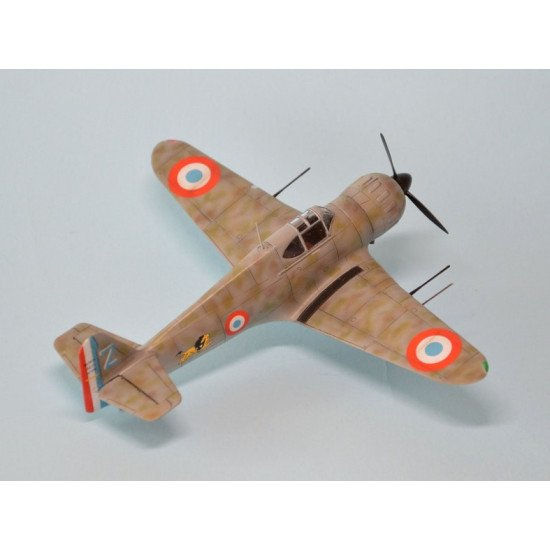 Dora Wings 72028 - 1/72 scale Bloch MB.152(late) model kit aircraft