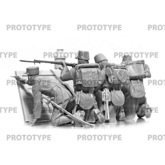 ICM 35680 - 1/35 WWI Belgian Infantry. Scale plastic model kit