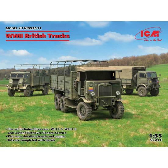ICM DS3511 - 1/35 W.O.T. 6, Model W.O.T. 8, Leyland Retriever General Service