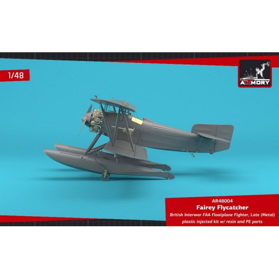 Armory AR48004 - 1/48 Fairey Flycatcher, British Interwar FAA Floatplane Fighter