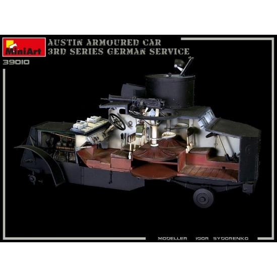 Miniart 39010 - 1/35 Austin Armoured car 3RD Series: german, austro-hungarian