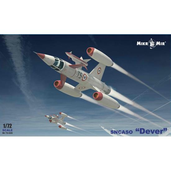 Mikro Mir 72-020 - 1/72 - SNCASO Dever scale plastic model kit aircraft