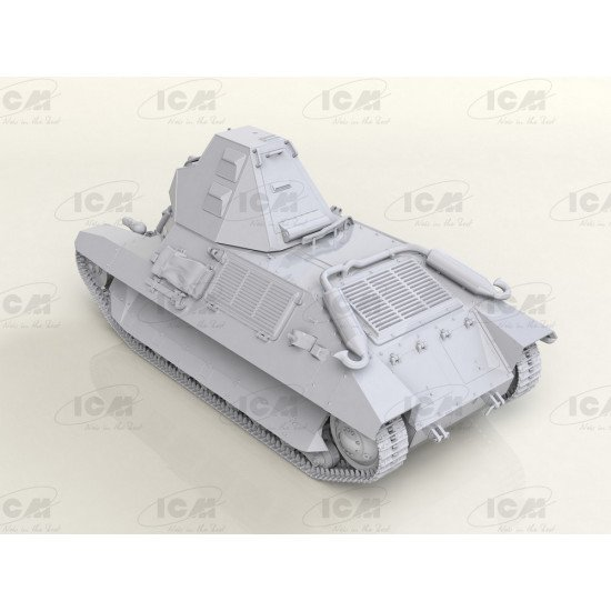 ICM 35337 1/35 French Light Tank in German Service scale plastic model kit WWII