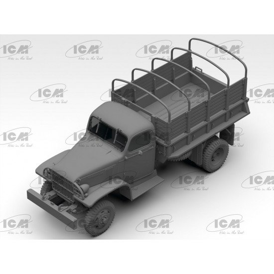 ICM 35593 - 1/35 - G7107 Army Truck WWII scale plastic model kit