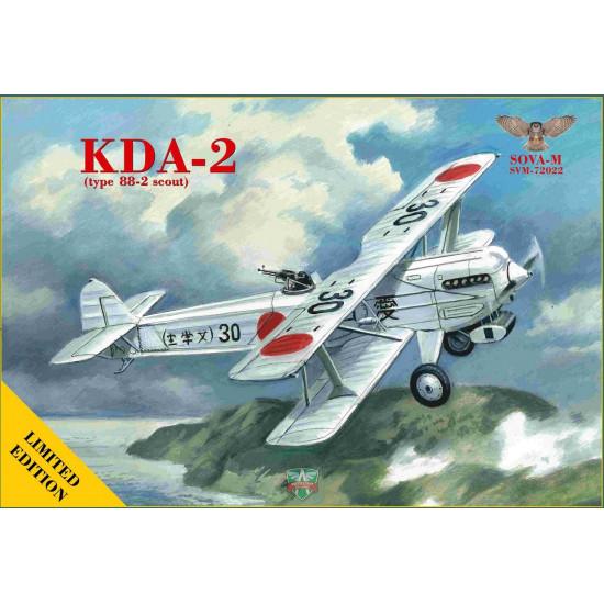 Sova Model 72022 - 1/72 - KDA-2 (Type 88-2 Scout) scale plastic model aircraft