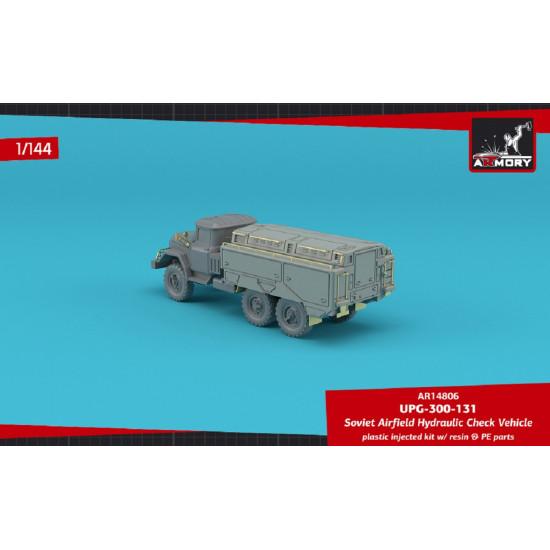 Armory AR14806 - 1/144 UPG-300-131 hydraulics testing vehicle, scale model kit