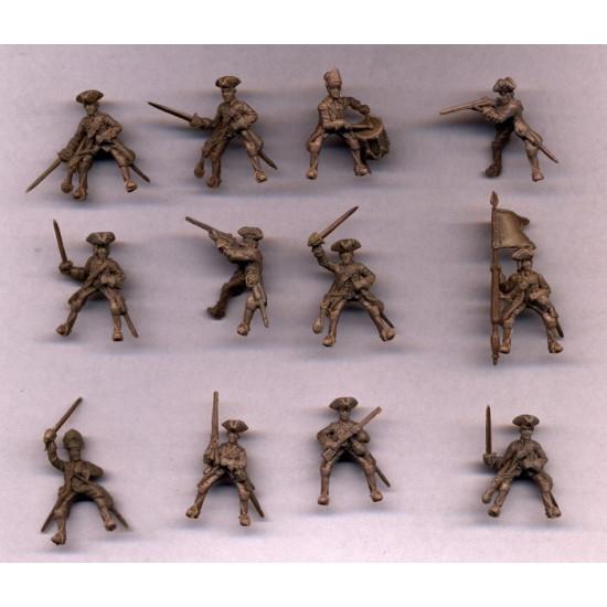 Red Box 72139 - 1/72 Jacobite Rebellion. British dragoons 1745, scale model kit