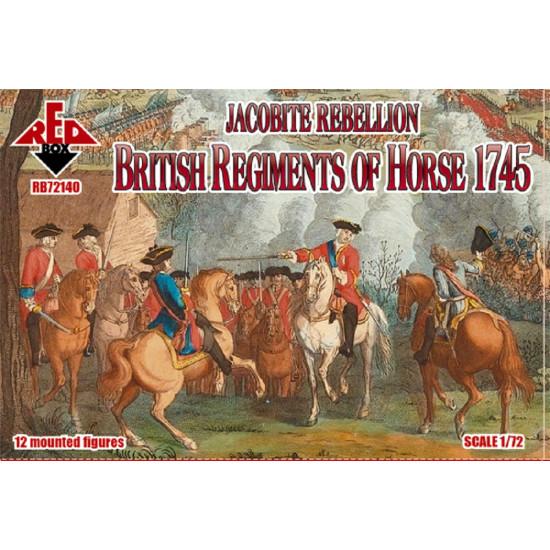 Red Box 72140 - 1/72 Jacobite Rebellion. British Regiments of Horse 1745 model