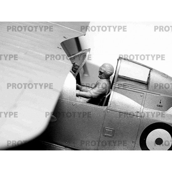 ICM 32112 - 1/32 - WWII Allies Pilots in the cockpit (British, American, Soviet)