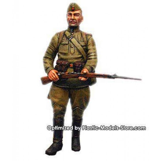 German Captives 1944 WWII 1/35 Master Box 3517   guard