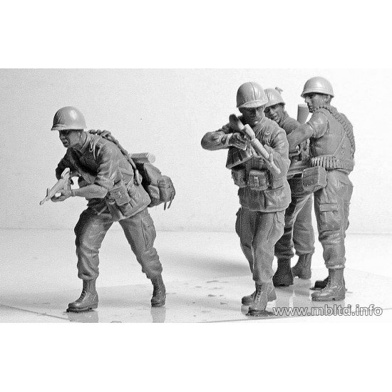 Jungle Patrol, Vietnam War series 1/35 Master Box 3595