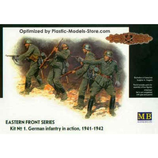 Frontier fight German Infantry 1/35 Master Box 3522