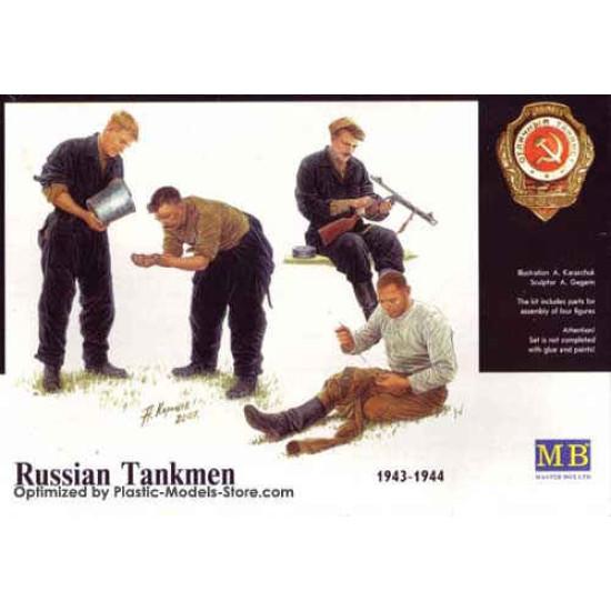 Russian tankmen 1943-1944 WWII 1/35 Master Box 3535