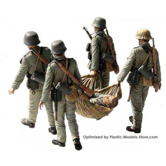 Casualty Evacuation German Infantry 1/35 MasterBox 3541