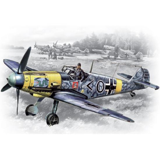 Bf 109F-2 Fighter  1/48 ICM 48102
