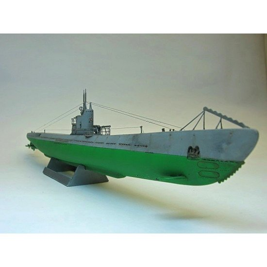 WWII Soviet submarine type 'S' (re-issue of AMP302) 1/350 Micro-Mir 350-002