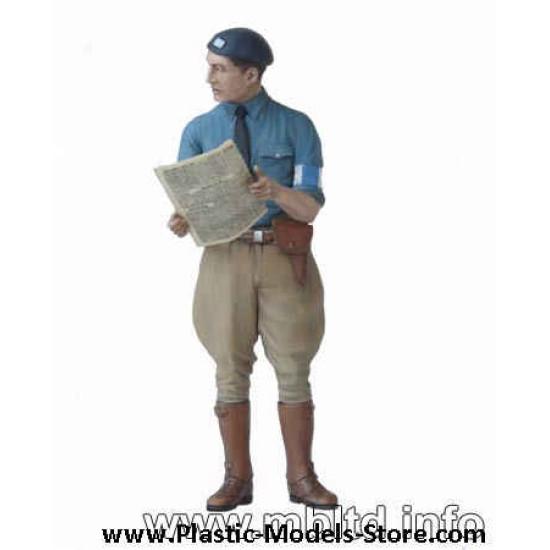 Maquis, French Resistance   civilians 1/35 Master Box 3551