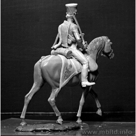 French Hussar, Napoleonic Wars Series 1/32 Master Box 3208