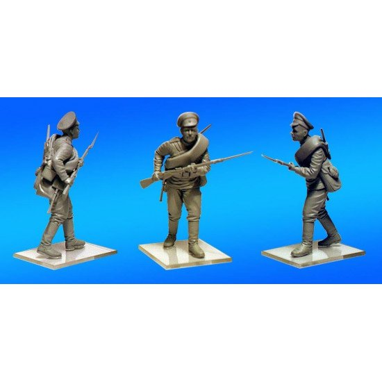 WWI Russian Infantry 1/35 ICM 35677