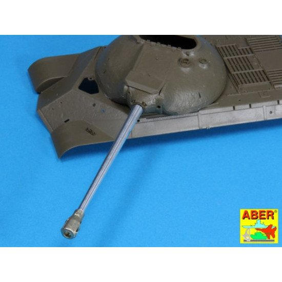 Russian 122mm D-25T tank barrel for IS-3, for Tamiya/Trumpeter 1/35 Aber 35-L126