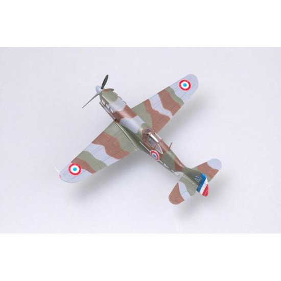 Ready-made aircraft Pilot officer Madon's D.520 1/72 BUILT MODELS EASY MODEL EM36336