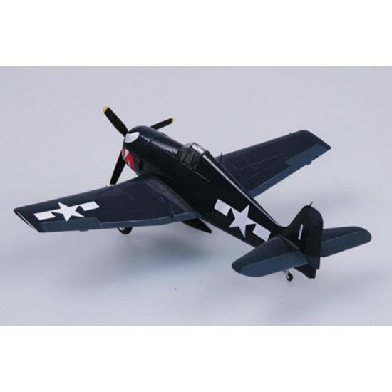 Collectible model aircraft F6F-5 Hellcat VF-27 USS Princeton 1944 1/72 BUILT MODELS EASY MODEL EM37297