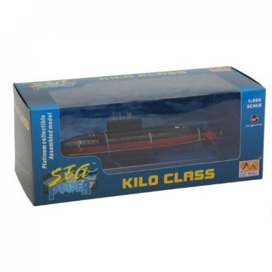 PLAN Kilo Class Submarine 1/350 BUILT MODELS EASY MODEL EM37501