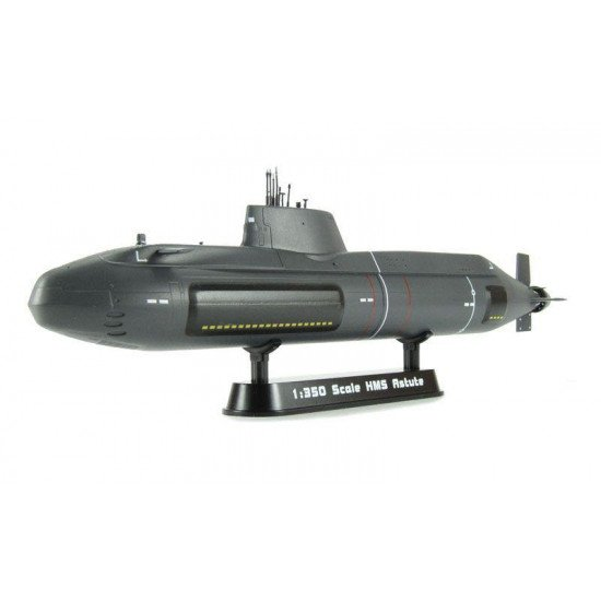 Collection model submarine HMS Astute 1/350 BUILT MODELS EASY MODEL EM37502
