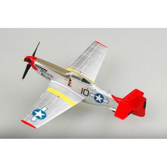 Collectible model airplane P-51D Mustang 1/72 BUILT MODELS EASY MODEL  EM39201
