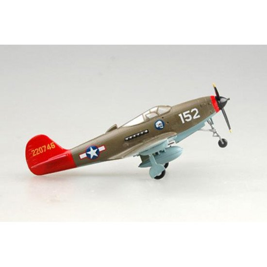 Collectible model airplane Bell P-39Q Airacobra 1/72 BUILT MODELS EASY MODEL  EM39203