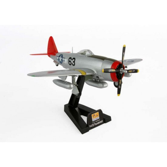 Plane P-47D Thunderbolt 1/72 BUILT MODELS EASY MODEL  EM39204