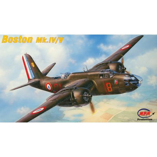 Bomber planes from Boston / V 1/72 MPM PRODUCTION  72549