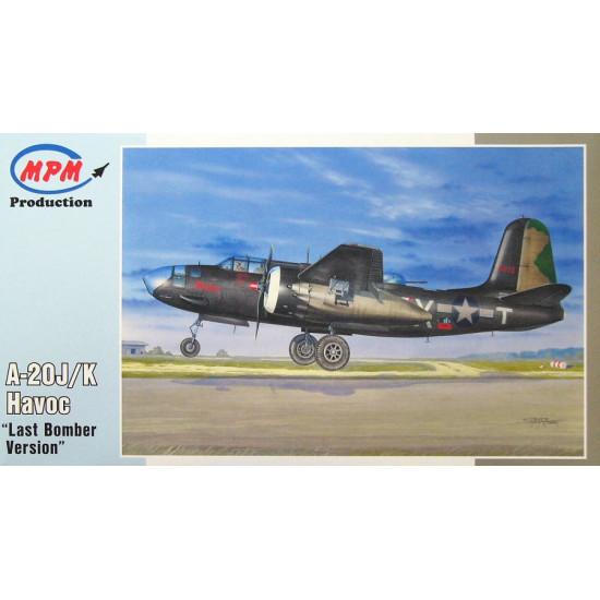 Bomber A-20J / K Havoc 1/72 MPM PRODUCTION 72564