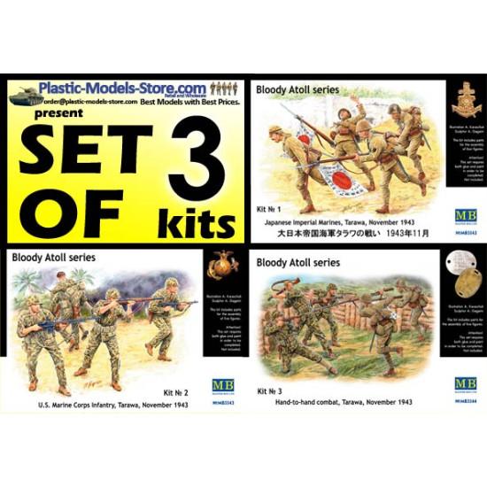 Bloody Atoll Japanese series Set of 3 kits 1/35 Master Box 3542 3543 3544