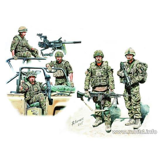 UK Infantrymen, present day 1/35 Master Box 35180