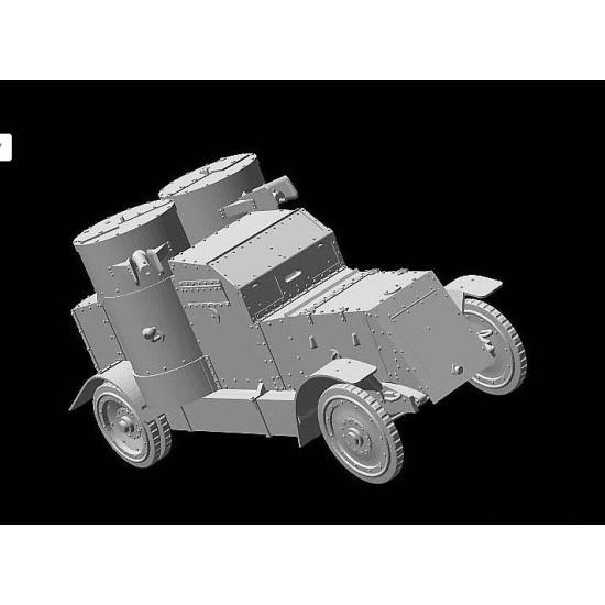 British Armoured Car, Austin, MK IV, WW I Era7 1/72 MASTER BOX 72008